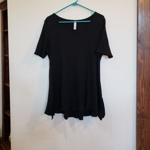 Lularoe Black Perfect Tee